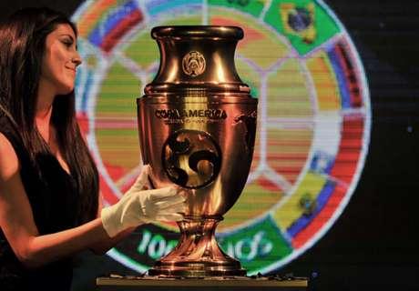 ►Troféu da Copa América é apresentado