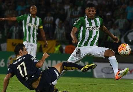 Libertadores: Atl. Nacional 3-1 R. Central