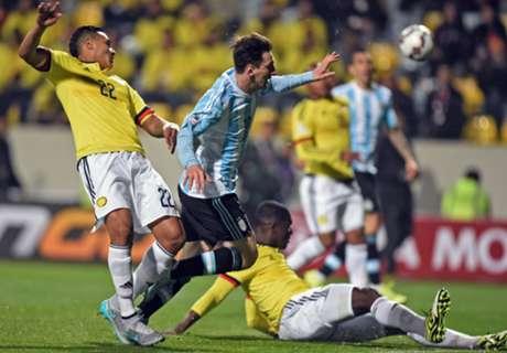 FT. Argentina (5)0-0(4) Kolombia