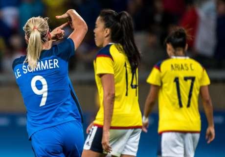 Colombia perdió en su debut Olímpico