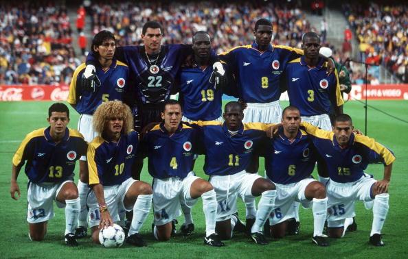 Resultado de imagen para seleccion colombia francia 98