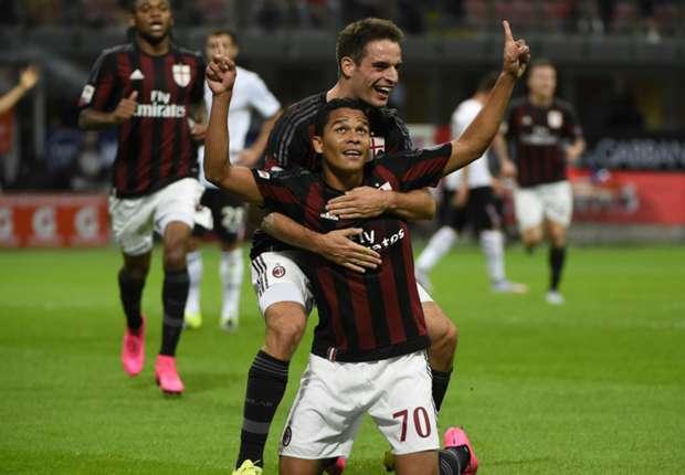 Marcatorii Milanului in sezonul 2015-2016