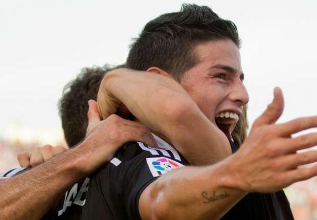 Zweifacher Torschütze gegen Granada: James Rodriguez