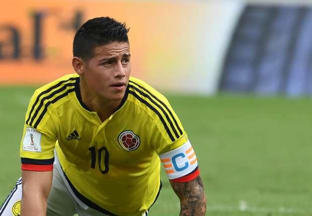 Resultado de imagem para colombiano James Rodríguez
