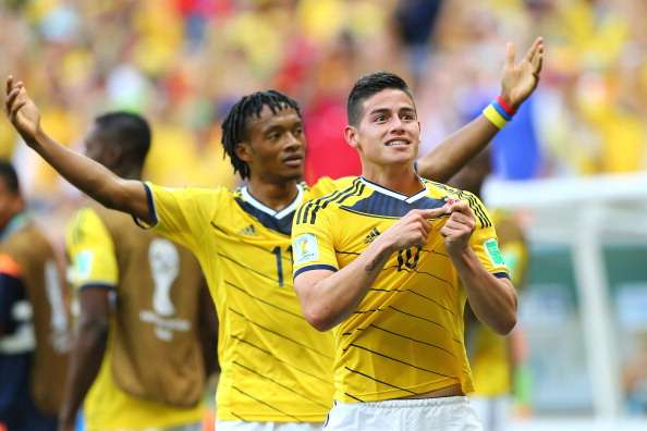James & Cuadrado make the difference for Colombia, says Zuniga