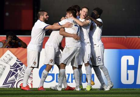 Un triplete de Ronaldo salvó a Portugal