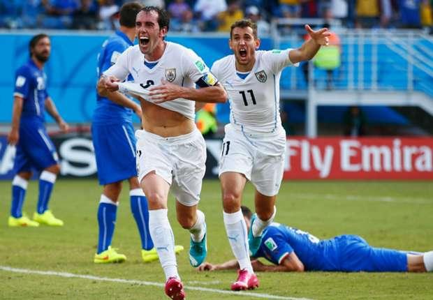 Diego Godin Lega Singkirkan Italia