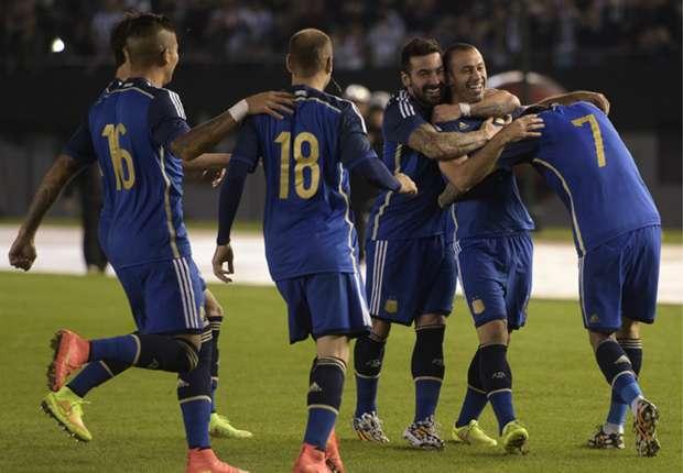 Argentina llega quinta al Mundial