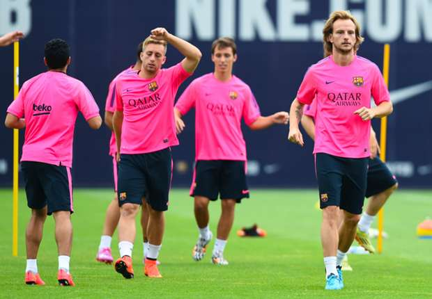 I'm not here to replace Xavi - Rakitic