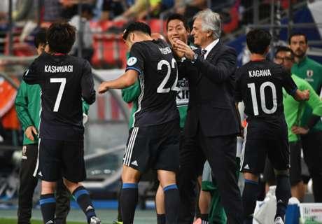 Jepang Sukses Libas Bulgaria