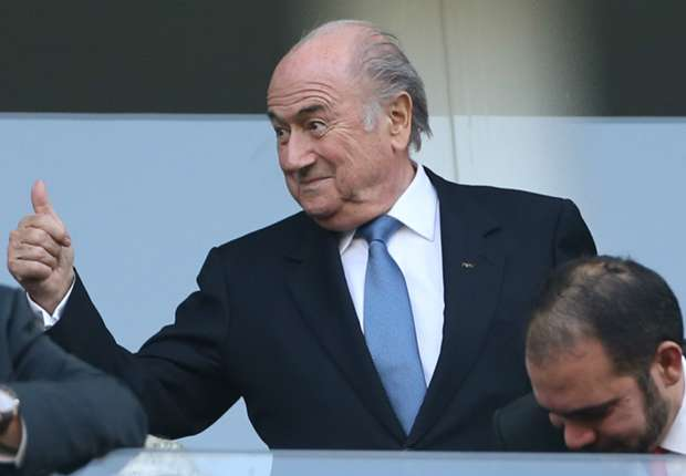 Blatter declares the World Cup a 'great success'