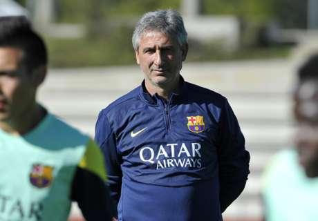 Barca trennt sich vom Reserve-Coach