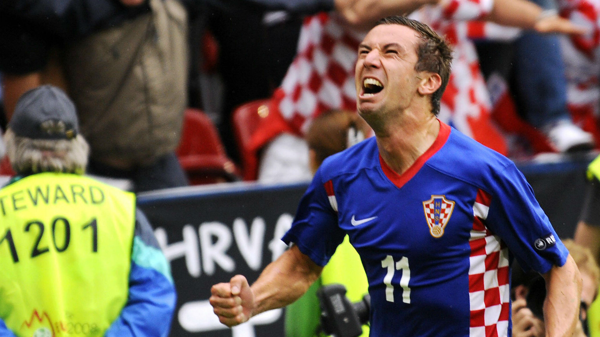 darijo srna croatia 2 germany 1 euro 2008 Goal