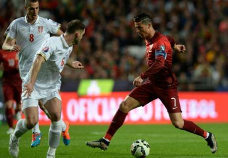 Eurocopa: Portugal 2 x 1 Sérvia