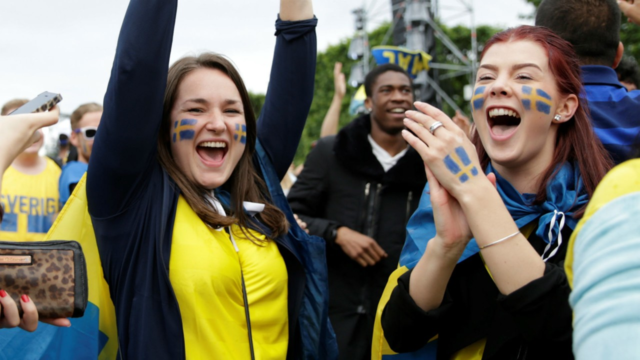 euro 2016 fans - sweden