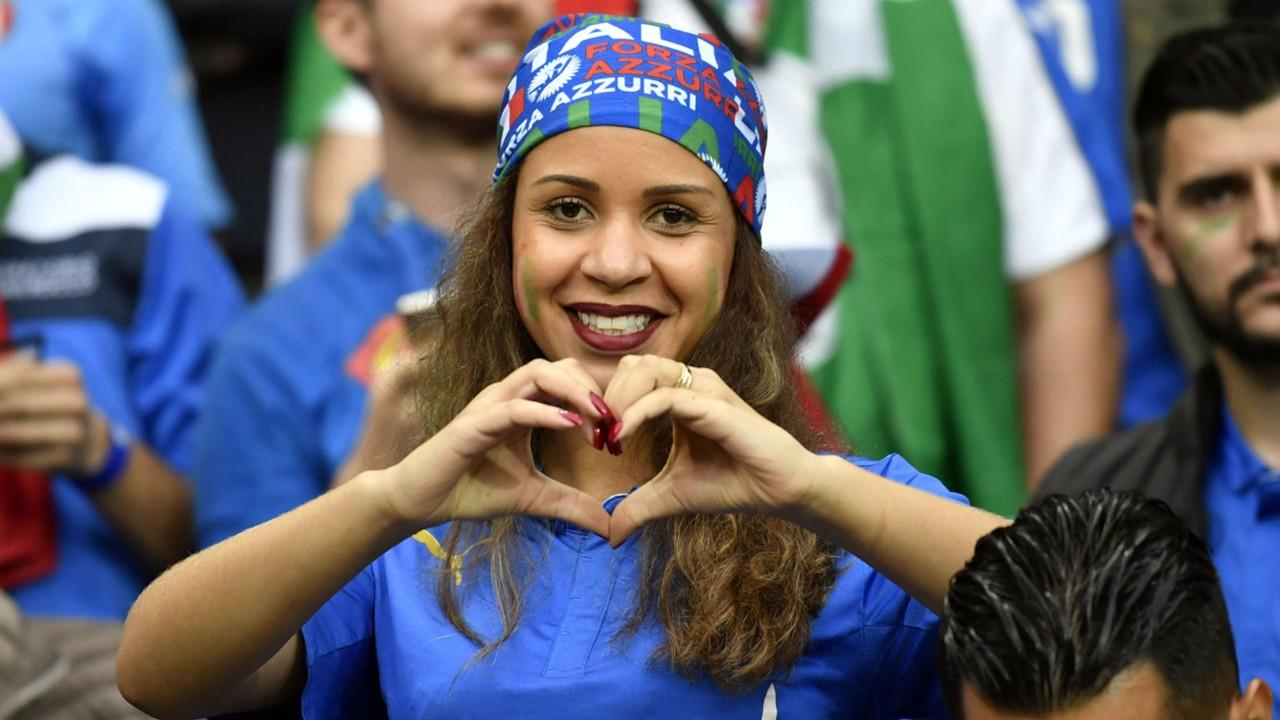 euro 2016 fans - italy