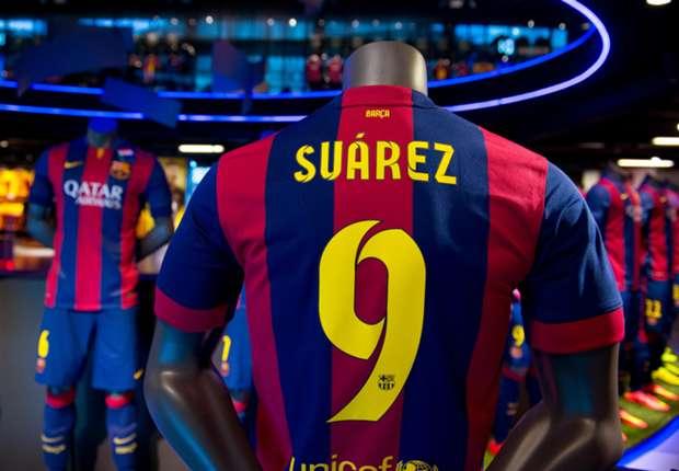 De carrière van Luís Suarez in cijfers