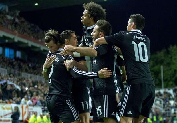 Sieben der zehn Treffer in Madrid steuerten die Königlichen bei