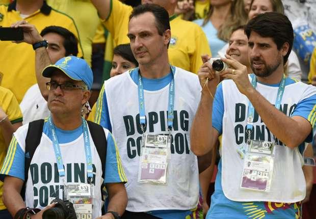 Auch bei der WM in Brasilien wurde auf Doping getestet