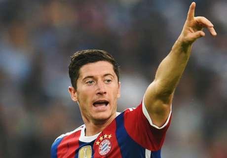 Lewy marca na estreia pelo Bayern