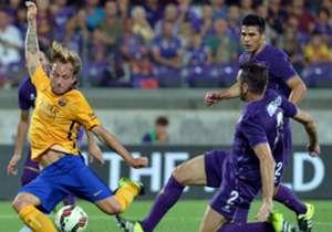 Barcelona fechou sua participação na International Champions Cup contra a Fiorentina