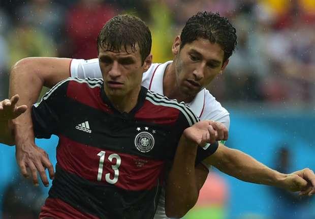 Thomas Müller besorgte mit einem gefühlvollen Schuss das 1:0 gegen die USA