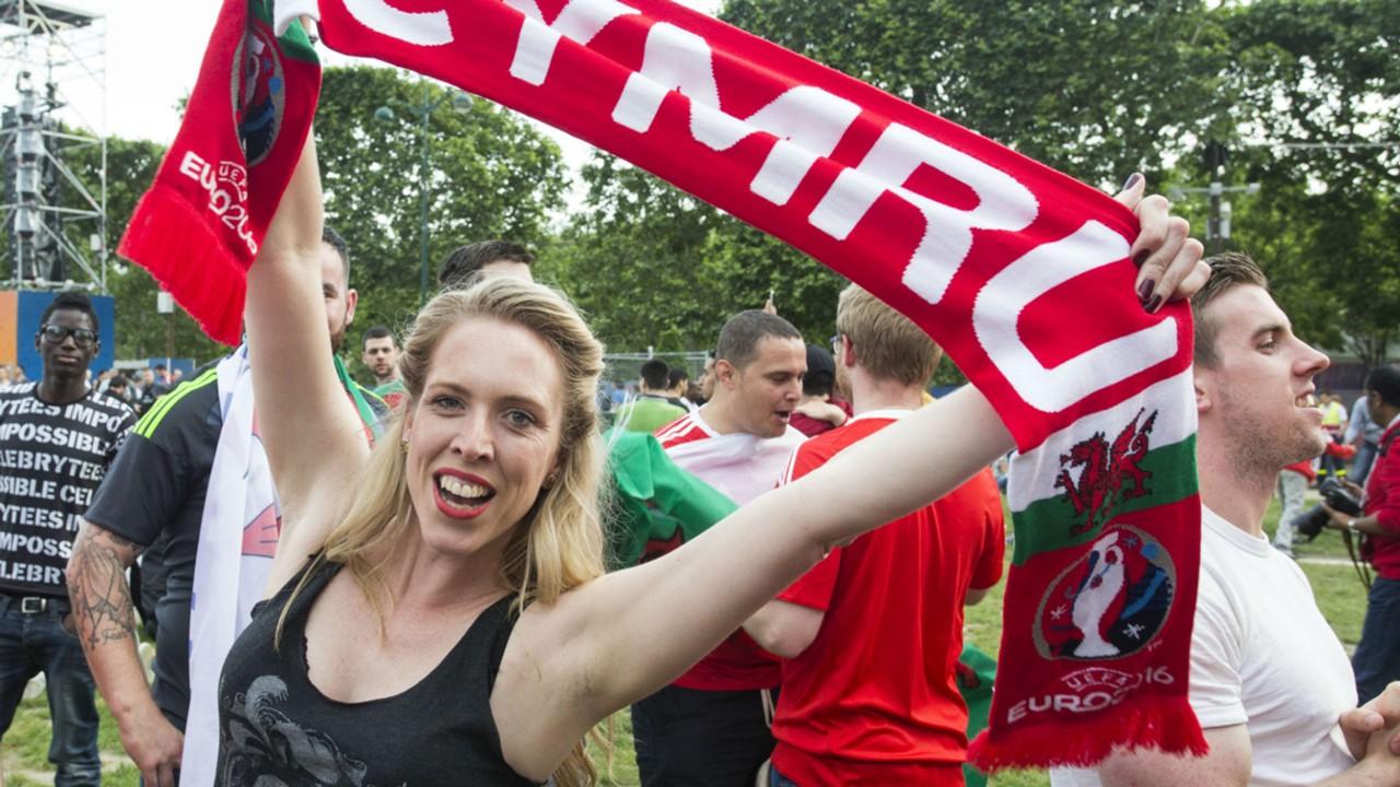 euro 2016 fans - wales