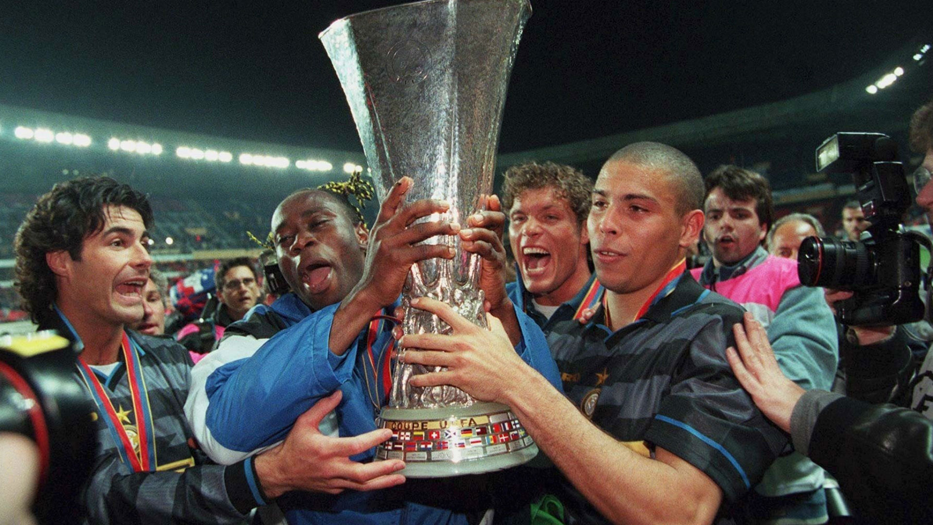 ronaldo nazario - inter uefa cup - 1998