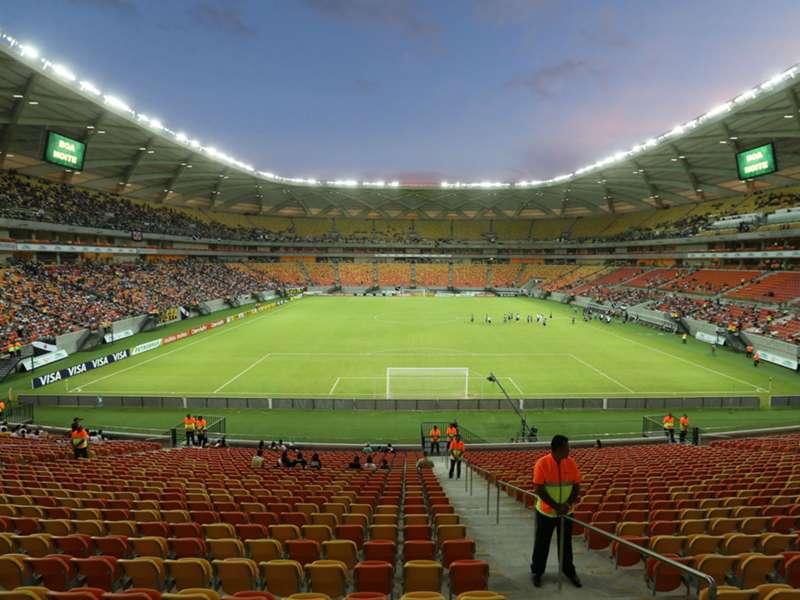 """Fifa avisa que não considera Manaus uma """"opção apropriada"""" para receber torneio Olímpico"""