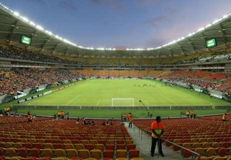 Brasil define palco para enfrentar Colômbia