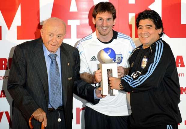 Maradona: I learned a lot from 'maestro' Di Stefano