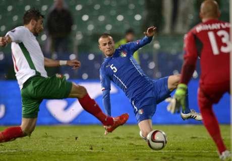 Bulgarien trotzt Italien Remis ab