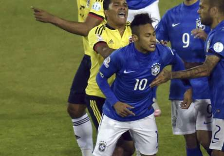 Neymar over Colombia grudge