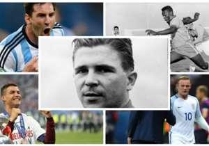 Qui sont les 20 meilleurs buteurs des 20 meilleures sélections FIFA de tous les temps ? Tour d'horizon prolifique...