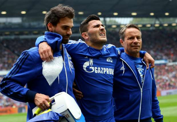 Schalke defender Kolasinac out for at least six months
