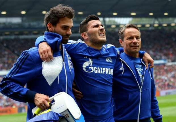 Schalke defender Kolasinac out for at least six months