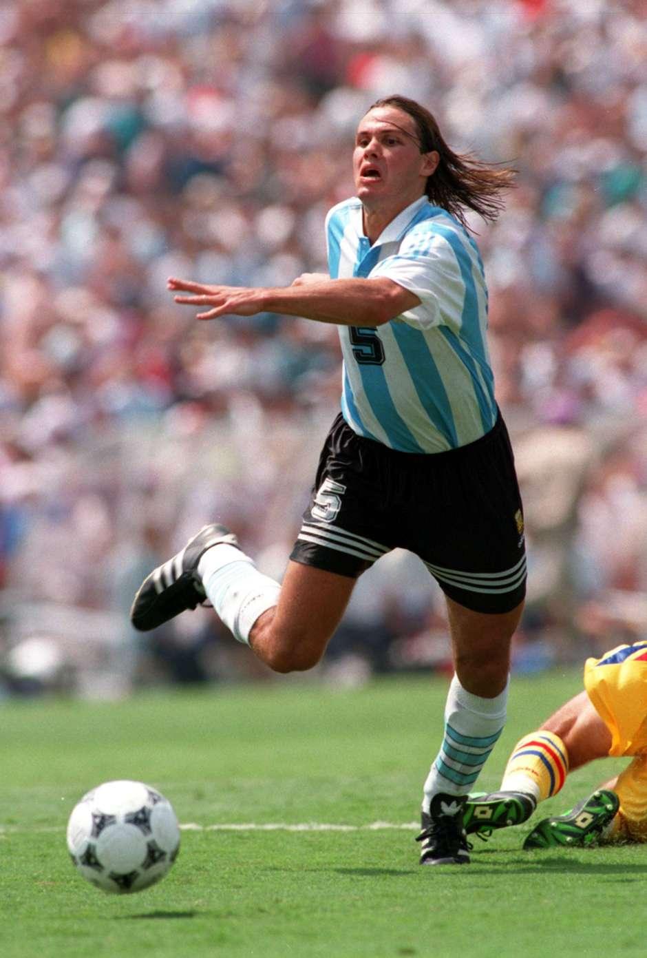 fernando redondo argentina 1994 Goal