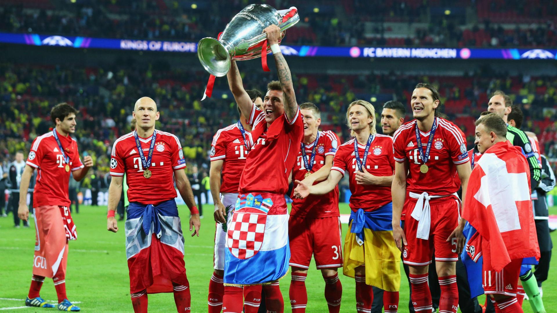 Mario Mandzukic Bayern Champions league