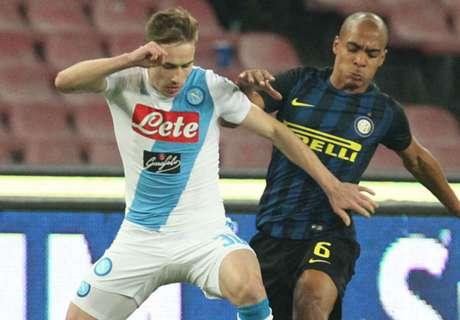 Naples coule l'Inter