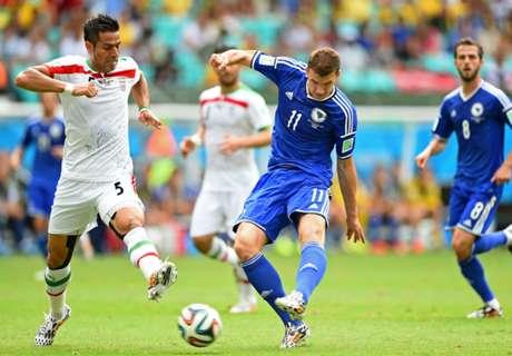 Copa 2014: Bósnia 3 x 1 Irã