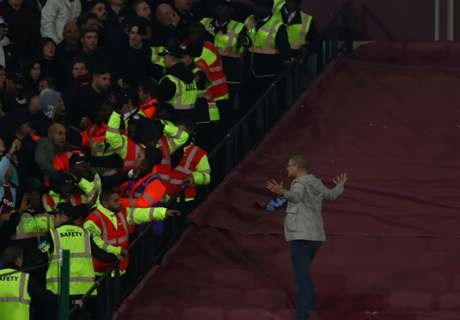 GALLERY - West Ham-Chelsea, tafferugli