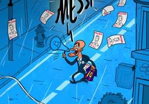 16 ENE | Guardiola busca desesperadamente a Messi por las calles de Manchester