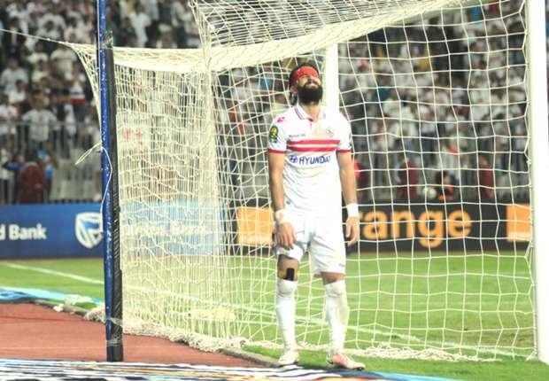 بكاء لاعبي الزمالك عقب خسارة النهائي الأفريقي - باسم مرسي