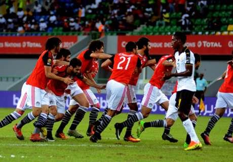 アフリカ杯最多優勝国エジプトが準々決勝進出、D組2位ガーナで8強が出そろう