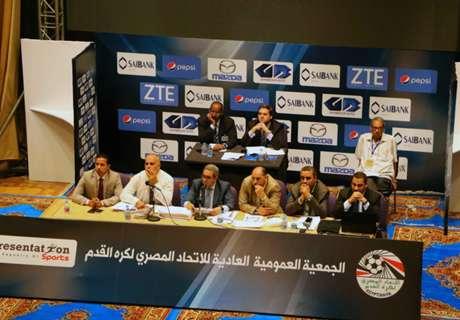 أبو ريدة رئيسًا لاتحاد الكرة باكتساح
