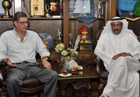 محمود طاهر  توفير كل إمكانيات النادي لخدمة أهلي دبي