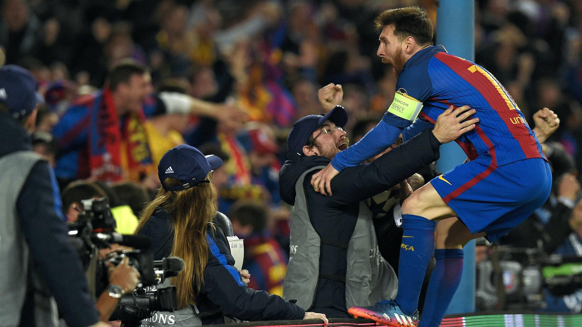 Barcelona PSG Messi