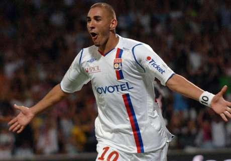 Da Ligue 1 ao estrelato: Karim Benzema