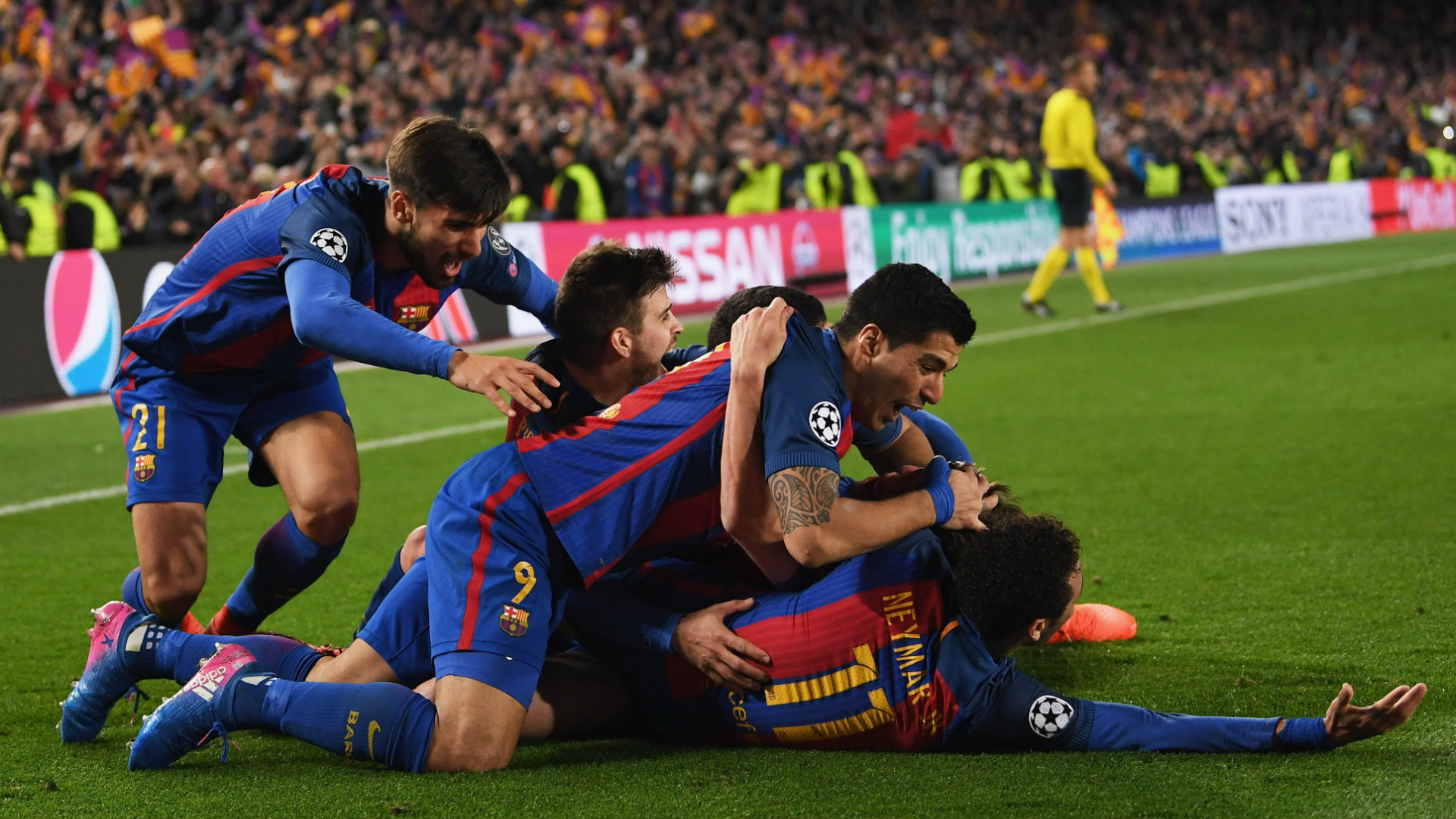 Barcelona would never e back from 4 0 down against Juventus