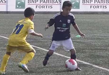 VIDÉO - Le nouveau Messi d'Anderlecht en action